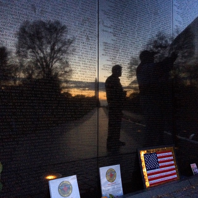 Vietnam Veterans Memorial, Veterans Day 2014