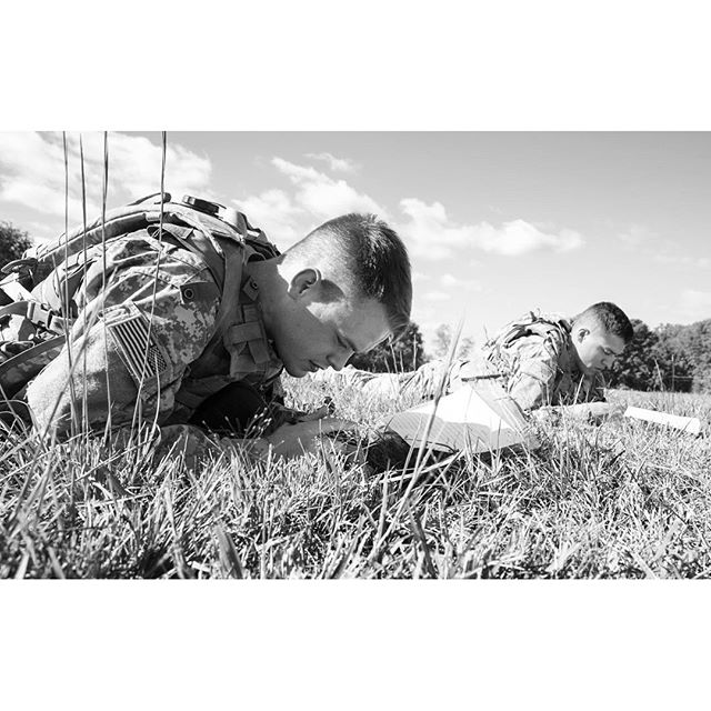 Everybody's favorite fun game: land nav! At  Best Warrior competition, Fort AP Hill (Mike Morones/Army Times)